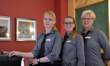 Janique Horst, Annika Wolf und Kerstin Schuffenhauer